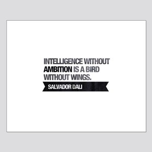 Intelligence without ambition is a bird without Po