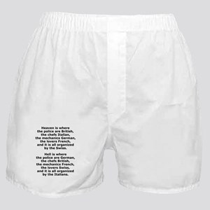 Heaven and Hell Boxer Shorts