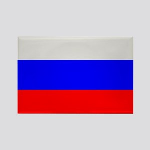Flag of Russia Rectangle Magnet