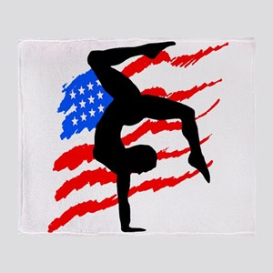 USA GYMNAST Throw Blanket