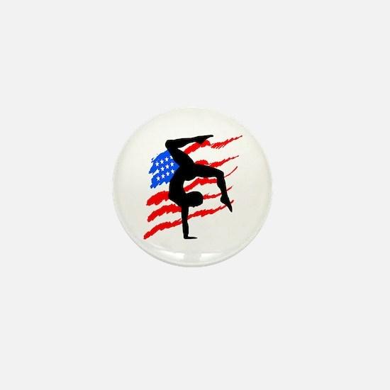 USA GYMNAST Mini Button