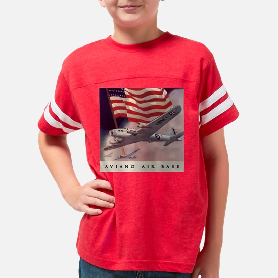 AVIANO AIR BASE Youth Football Shirt