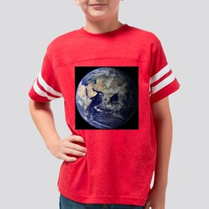 EarthEasternHemisphereToteBag Youth Football Shirt