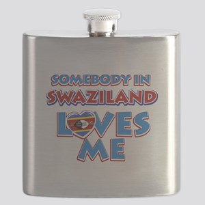 Somebody in Swaziland Loves me Flask