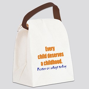 admin Canvas Lunch Bag