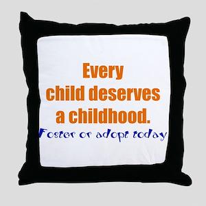 admin Throw Pillow