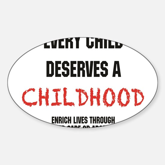 Foster care Sticker (Oval)