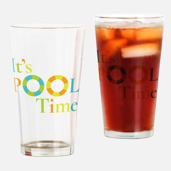 Cute Sun tan Drinking Glass