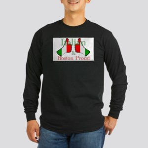 Italian and Boston Proud Long Sleeve T-Shirt