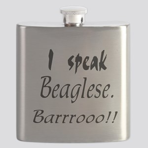 Funny Beagle Bark Flask