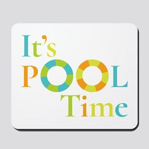 It's summer and it's pool time! Mousepad