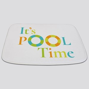 It's summer and it's pool time! Bathmat