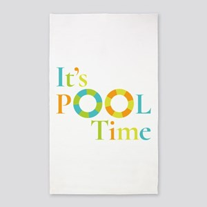 It's summer and it's pool time! Area Rug