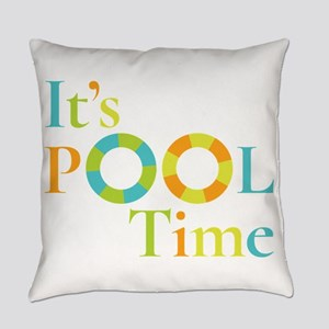 It's summer and it's pool time! Everyday Pillow