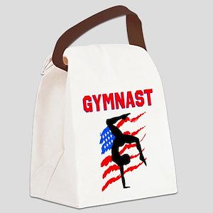 GYMNAST POWER Canvas Lunch Bag