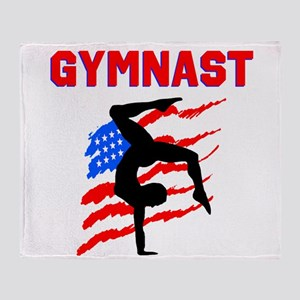 GYMNAST POWER Throw Blanket