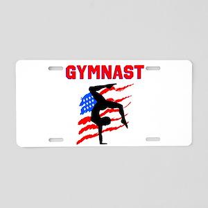 GYMNAST POWER Aluminum License Plate