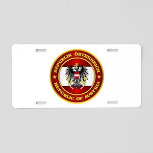 Austria Medallion Aluminum License Plate