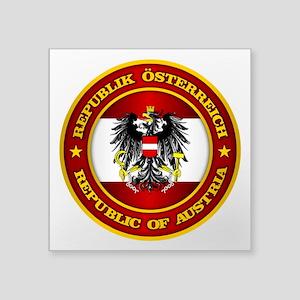 Austria Medallion Sticker