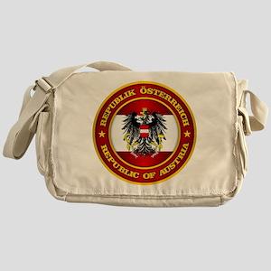 Austria Medallion Messenger Bag