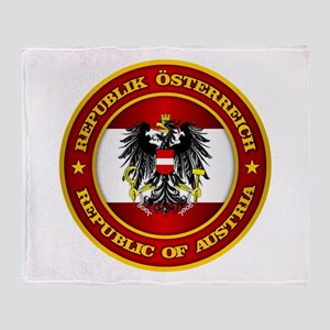Austria Medallion Throw Blanket
