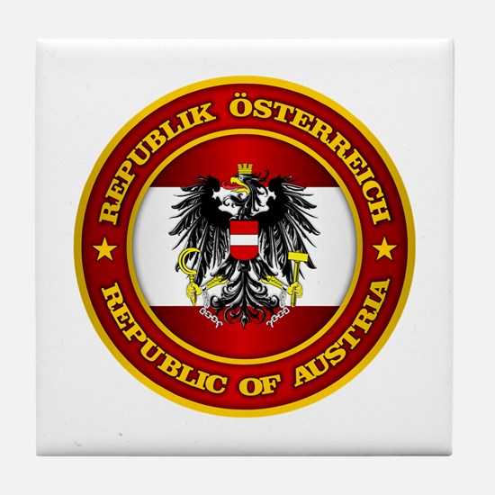Austria Medallion Tile Coaster