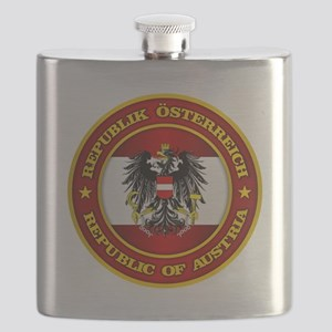 Austria Medallion Flask