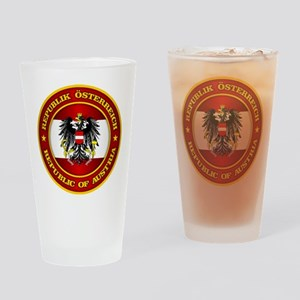 Austria Medallion Drinking Glass