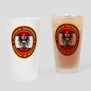 Austria Medallion Drinking Glass