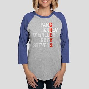 Grey's Anatomy Vertical. Womens Baseball Tee