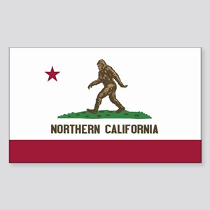 Northern California Bigfoot Sticker
