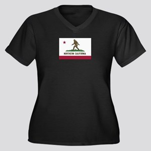 Northern California Bigfoot Plus Size T-Shirt