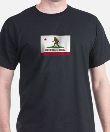 Northern California Bigfoot T-Shirt
