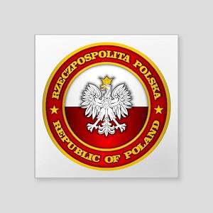 Polish Medallion Sticker
