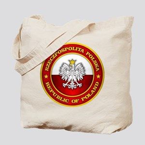 Polish Medallion Tote Bag