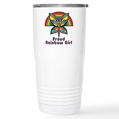 Rainbow Pride Stainless Steel Travel Mug