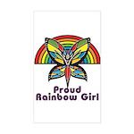 Rainbow Pride Sticker (Rectangle)