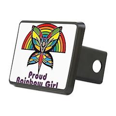 Rainbow Pride Hitch Cover