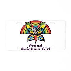 Rainbow Pride Aluminum License Plate