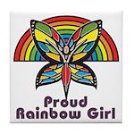 Rainbow Pride Tile Coaster