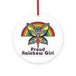 Rainbow Pride Ornament (Round)