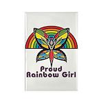 Rainbow Pride Rectangle Magnet