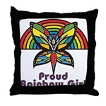 Rainbow Pride Throw Pillow