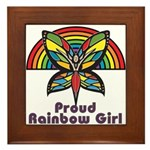 Rainbow Pride Framed Tile