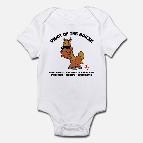 Funny Year of The Horse Characteristics Infant Bod