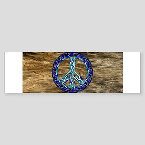 Crystal Blue Bumper Sticker