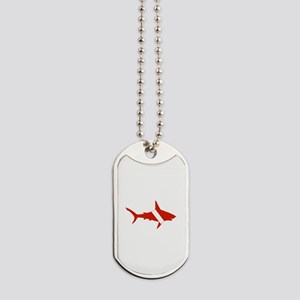Shark Diver Dog Tags
