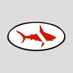 Shark Diver Patches