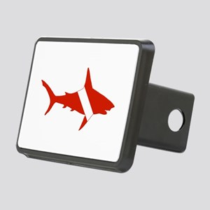 Shark Diver Rectangular Hitch Cover
