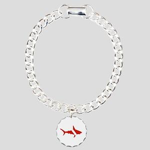 Shark Diver Charm Bracelet, One Charm